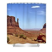 The Mittens Monument Valley Shower Curtain