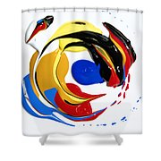 The Mix Up Shower Curtain