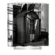 The Modern Highrise Shower Curtain