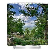 The Mogollon Rim  Shower Curtain