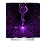 The Moment Of Inspiration Shower Curtain