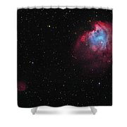 The Monkey Head Nebula And Sh2-247 Shower Curtain