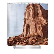 The Monolith Shower Curtain