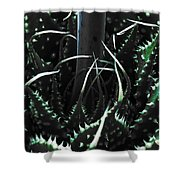 The Monster Is Impaled  Shower Curtain