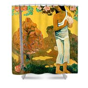 The Month Of Mary Shower Curtain