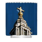 The Moon And St Paul's   Shower Curtain
