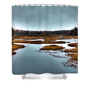 The Moose River - Old Forge New York Shower Curtain