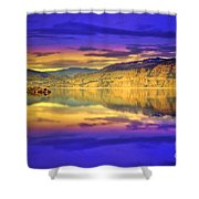 The Morning Glow Shower Curtain