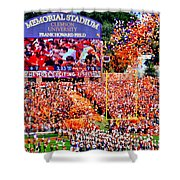 The Most Exciting 25 Seconds Shower Curtain