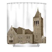 The Mother Church The First Church Of Christ Scientist Boston Massachusetts Circa 1900 Shower Curtain