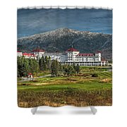 The Mount Washington Hotel Shower Curtain