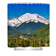 The Mountain And The Valley Shower Curtain