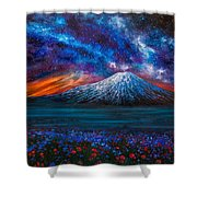 The Mountain Of Memories Shower Curtain