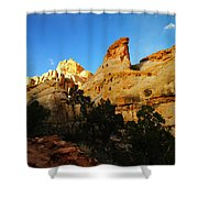 The Mountains Of Capital Reef   Shower Curtain
