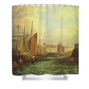 The Mouth Of The Yare, 1821 Shower Curtain