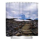 The Muir Trail Shower Curtain