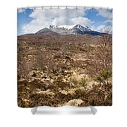 The Munro Of Sgurr Nan Fhir Duibhe Shower Curtain