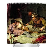 The Murder Of The Sons Of Edward Iv Shower Curtain