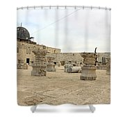 The Museum At Dome Of The Rock Shower Curtain
