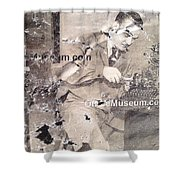 The Museum Con Shower Curtain
