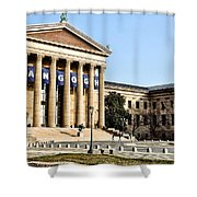 The Museum Of Art In Philadelphia Shower Curtain