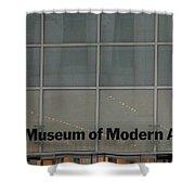 The Museum Of Modern Art Shower Curtain