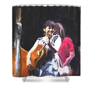 The Music Of Norah Jones Shower Curtain