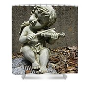 The Musician 03 Shower Curtain