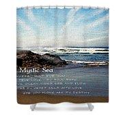 The Mystic Sea Shower Curtain