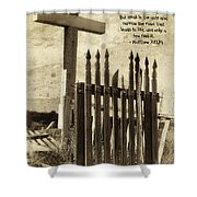 The Narrow Gate Shower Curtain