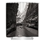 The Narrows IIi Shower Curtain