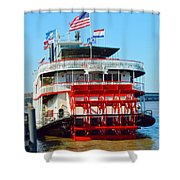 The Natchez 1 Shower Curtain