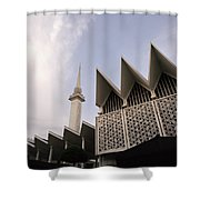 The National Mosque Kuala Lumpur Shower Curtain