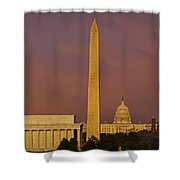 The Nations Capitol Shower Curtain