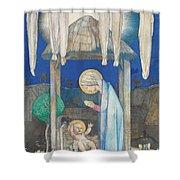 The Nativity Shower Curtain by Edward Reginald Frampton