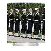 The Navy Ceremonial Guard Shower Curtain