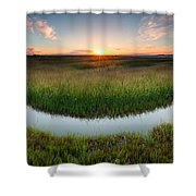 The Necklace Shower Curtain