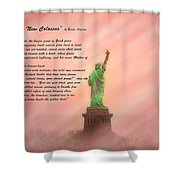 The New Colossus Shower Curtain