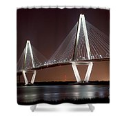 The New Cooper River Bridge Shower Curtain