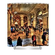 The New York Public Library Shower Curtain