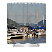 The Newburgh Water Front 2 Shower Curtain