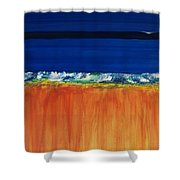 The Next Big Wave Shower Curtain