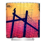 The Night Keeper Shower Curtain