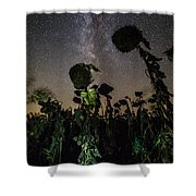 The Night Of The Triffids Shower Curtain