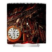 The Night Riders Homage 1939 The Bum Steer Restaurant Tucson Arizona 2005 Shower Curtain