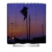 The Nina In Color Shower Curtain