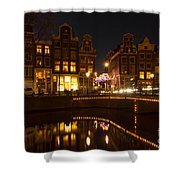 The Nine Streets Amsterdam Shower Curtain