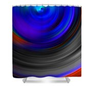 The No.14 Colored Hurricane Shower Curtain