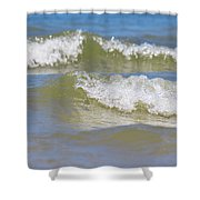 The North Sea Shower Curtain by Angela Doelling AD DESIGN Photo and PhotoArt