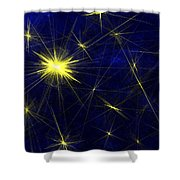 The North Star Shower Curtain